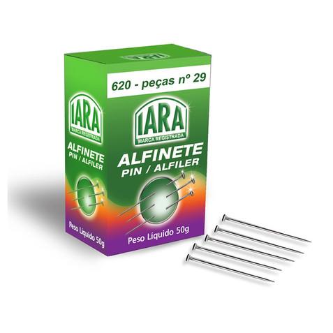 ALFINETE AÇO IARA Nº 29 50GR