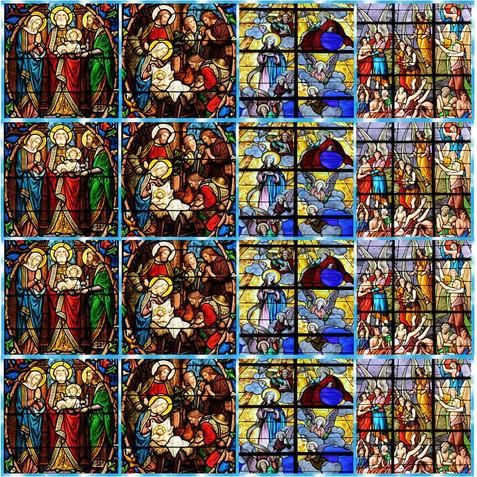 TEC ESTAMP DIGITAL VITRAL RELIGIOSO MENINO JESUS 1,50L