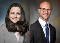 Drs. Laura Balsamini and Brian Freed Complete NJHELA