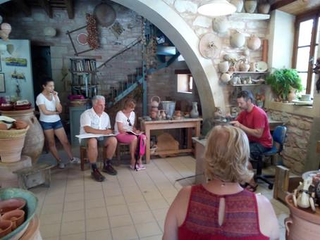 Margaritès : un village de potiers au coeur de l'ile rebelle
