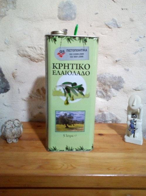 Huile d'Olive de Crète (5 Litres)