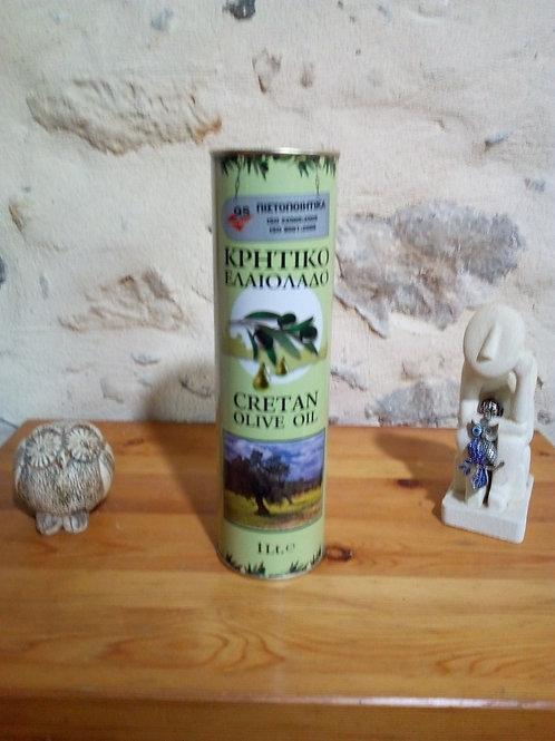 Huile d'olive de Crète (1litre)