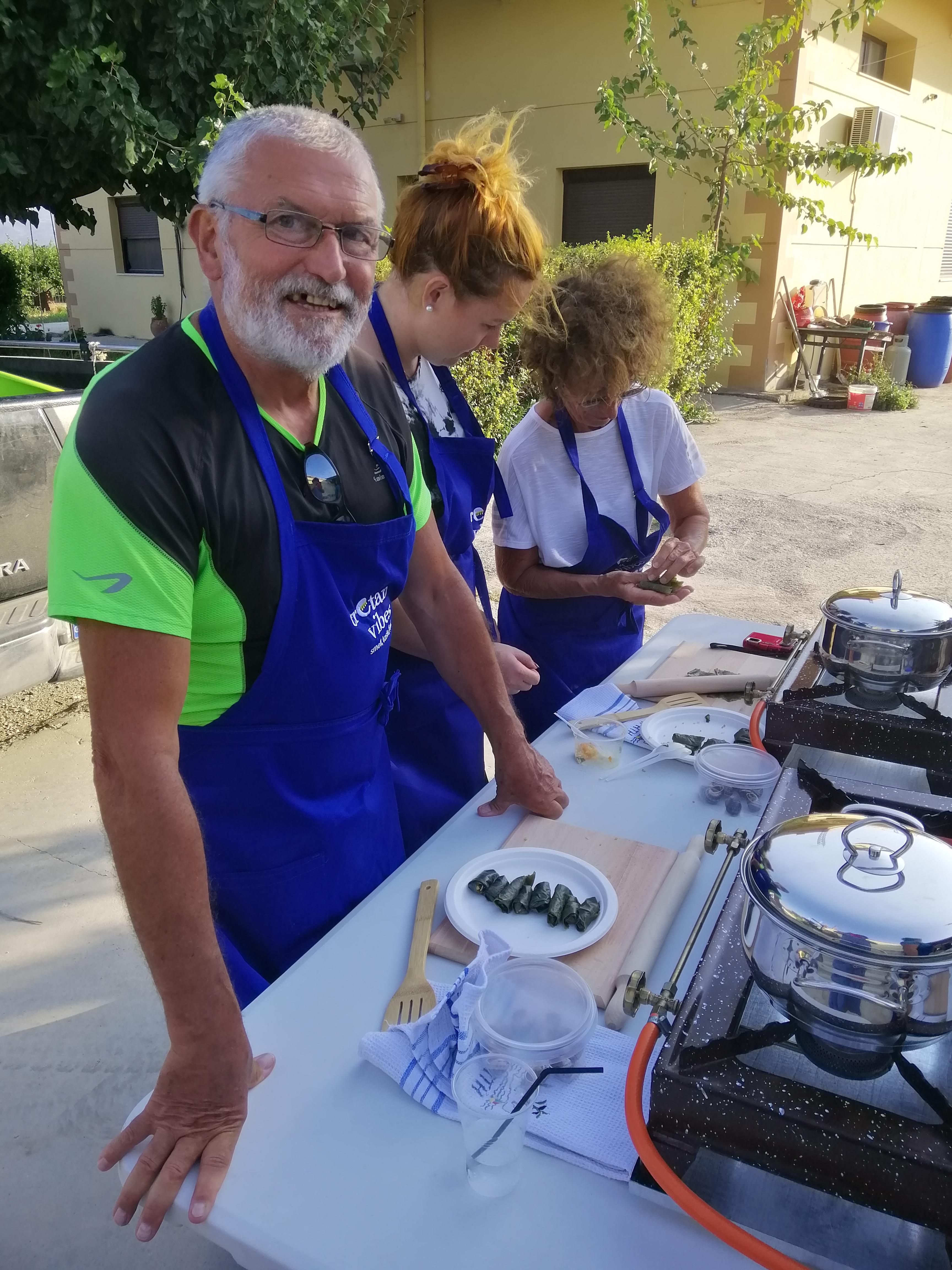 cours de cuisine crétoise