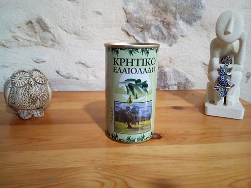 Huile d'Olive de Crète (250 ml)