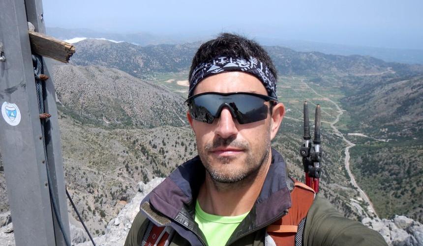 Michalis, à la pointe du Psiloritis
