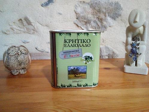 Huile d'olive de Crète (500 ml)