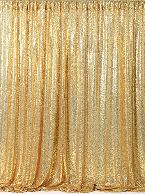 9' x 10' Gold Curtain