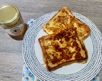 Eggy Bread with Honey Drizzle
