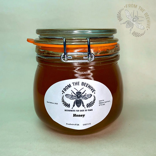 Pure English Runny Honey: Kilner Jar