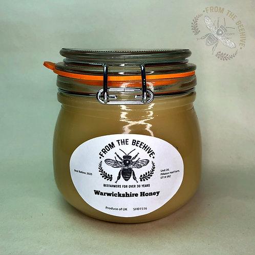 Pure Warwickshire Set Honey: Kilner Jar