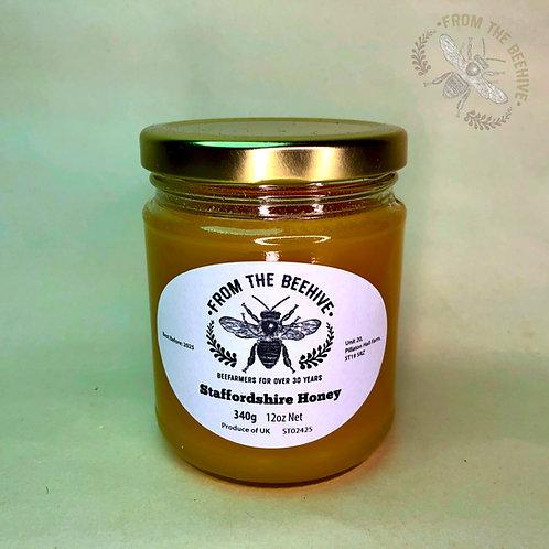 Staffordshire Set Honey: Goldtop Jar