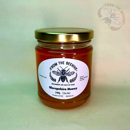 Shropshire Runny Honey: Goldtop Jar