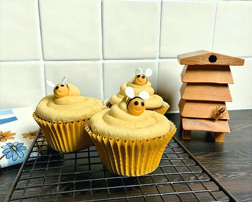Honey & Lemon Cupcakes