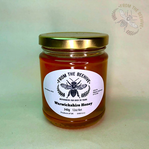 Warwickshire Runny Honey: Goldtop Jar