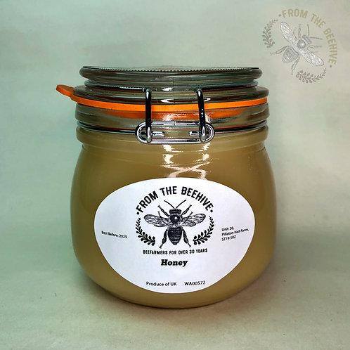 Pure English Set Honey: Kilner Jar