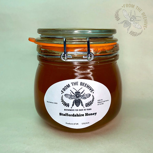 Staffordshire Runny Honey: Kilner Jar