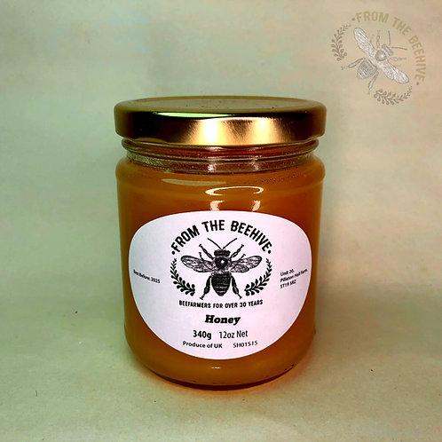 Pure English Set Honey: Goldtop Jar