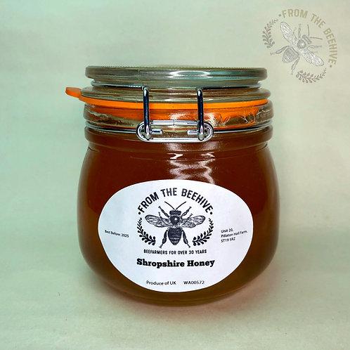 Pure Shropshire Runny Honey: Kilner Jar