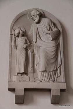 H. Jozef, OLV Middelareskerk, Berchem