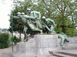 Soldatengroep, Oorlogsmonument in Verviers