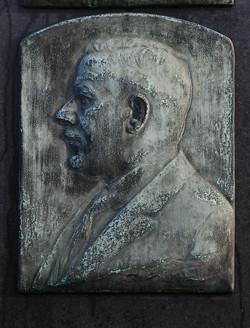 Plaquette graf Leon Vandevliet