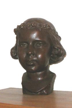 Meikroontje (brons)
