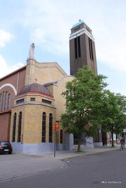 O.L.V., Middelareskerk, Berchem