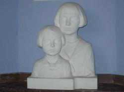 Dochter Eliane en zoon Luc