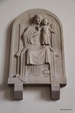 Maria, OLV Middelareskerk, Berchem