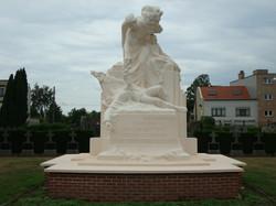 Oorlogsmonument, begraafplaats Silsburg, Borgerhout