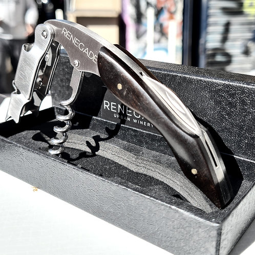 Luxury Engraved Heavy Duty Corkscrew - Gift Box