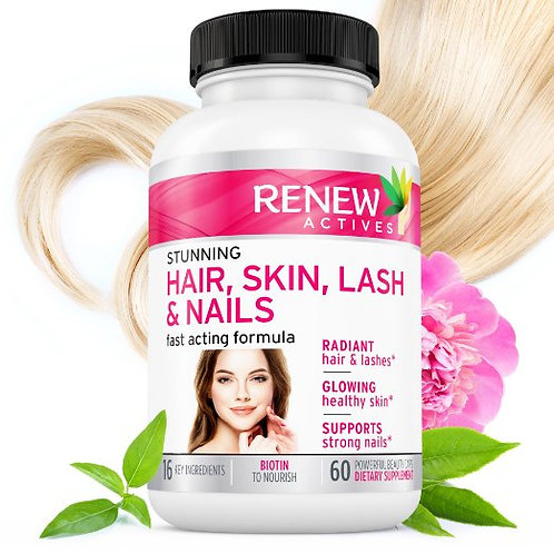 RENEW ACTIVES Hair-Skin-Lash & Nails Supplement!