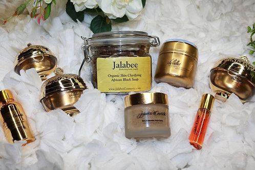 Jalabee Skin Perfecting Body Yogurt w/ Carrot Oil Complextion Skin Set