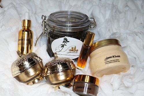 Jalabee Cosmetic Glowing Body Butter Set