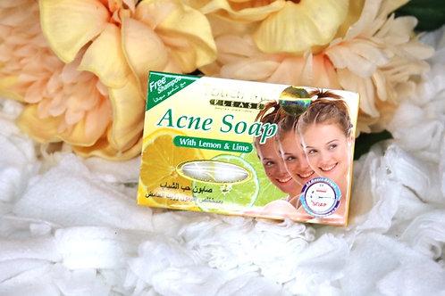 Acne soap with Lemon & Lime