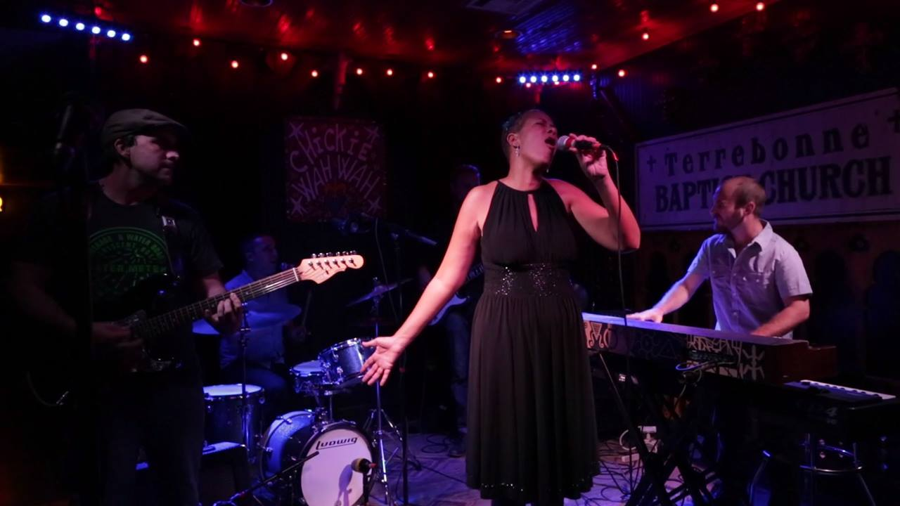 Margie Perez and Band at Chickie Wah Wah-Love Is All