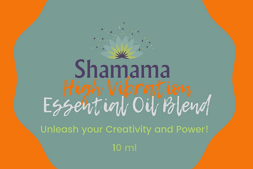 Shamama's High Vibration Essential Oil Blend