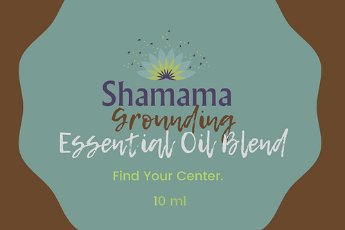 Shamama's Grounding Essential Oil Blend