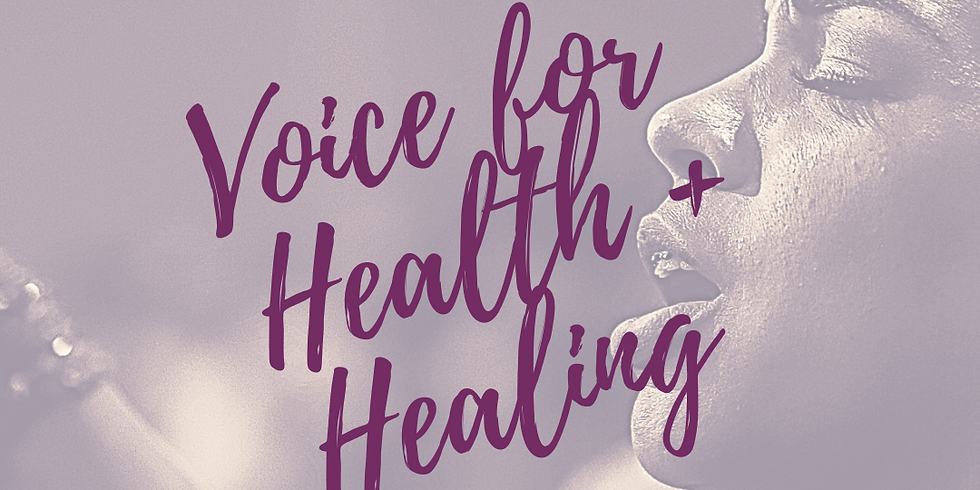 Voice for Health and Healing with Aideen Ní Riada