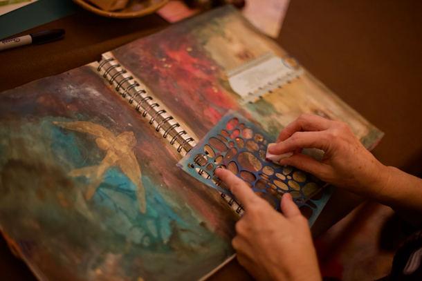 Art Journaling with Katie