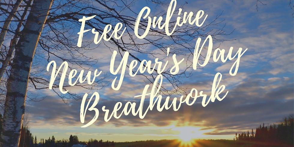 Free New Year's Day Breathwork