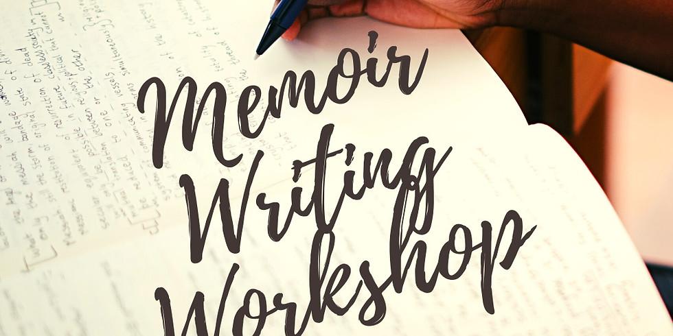 Memoir Writing Workshop (In Person and Virtual)