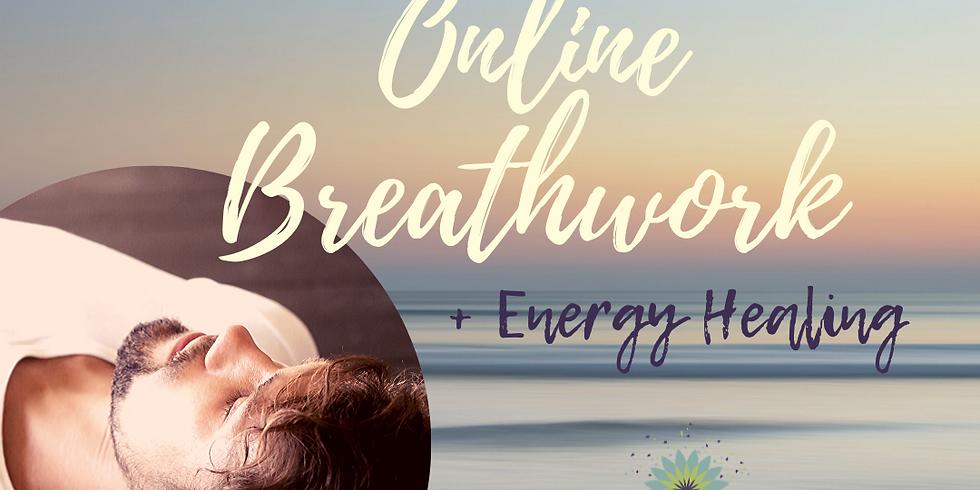 Online Breathwork + Energy Healing