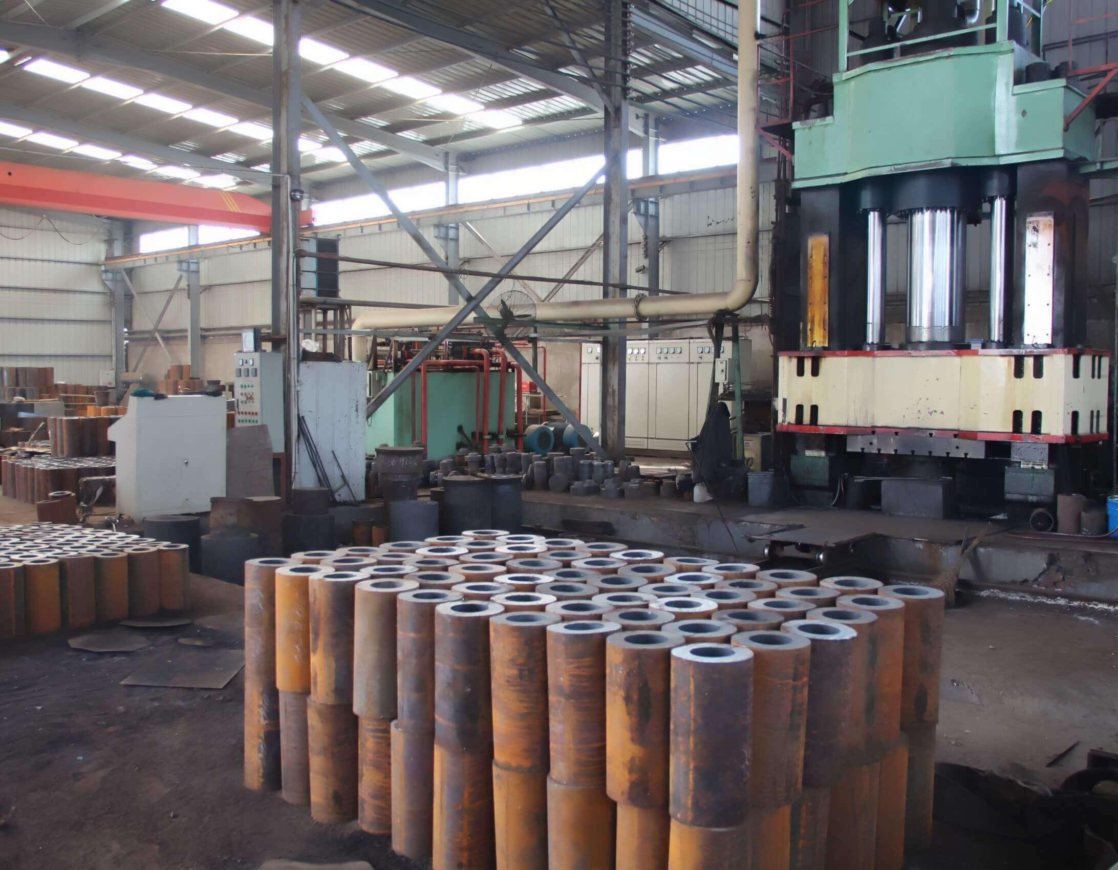 jinan longchao mud pump parts factory5