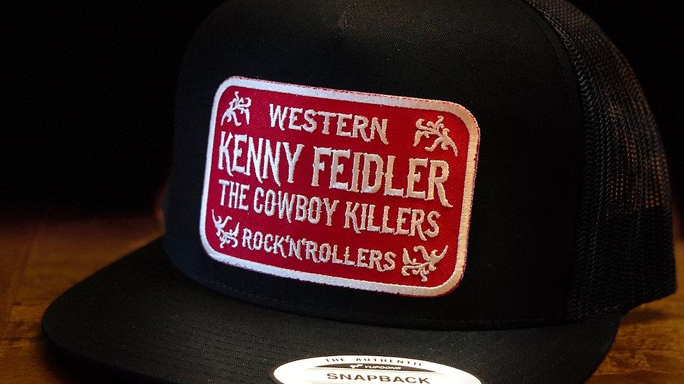 """""""Western Rock N Rollers"""" Black Snapback"""