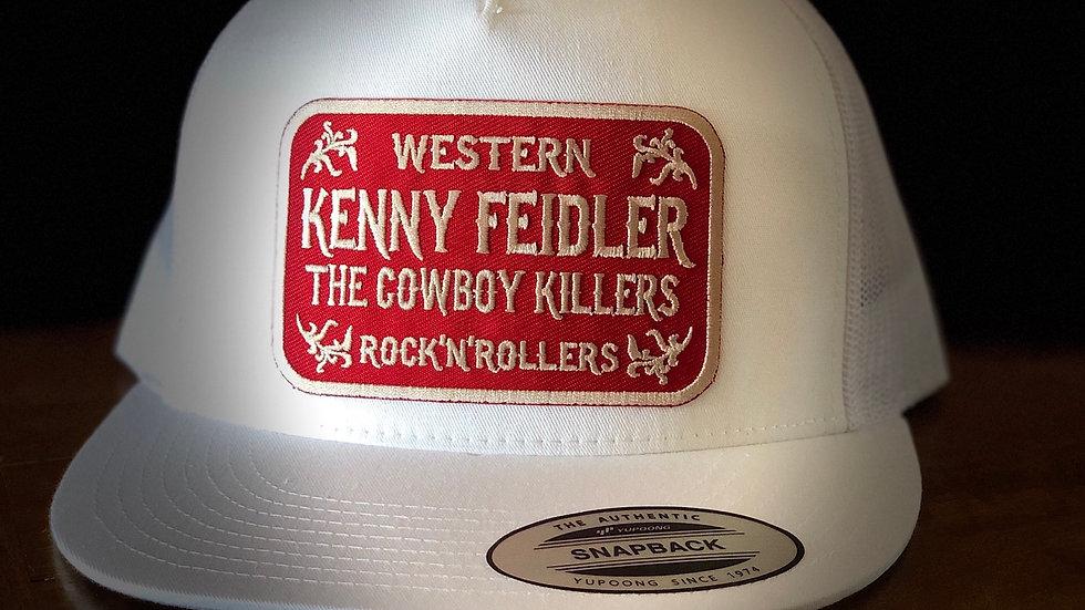 """""""Western Rock n Rollers"""" SnapBack White"""