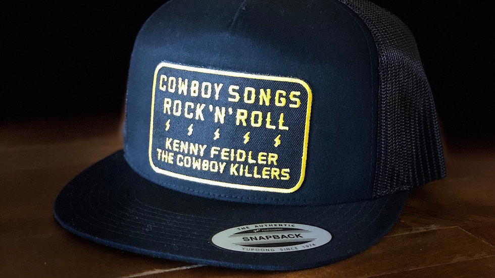 """Cowboy Songs and Rock n Roll"" SnapBack"