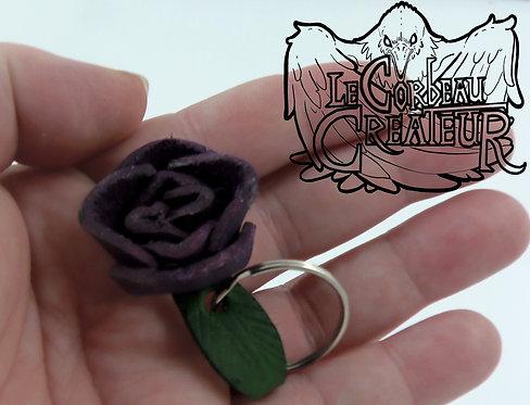 Mini Porte clés rose violette