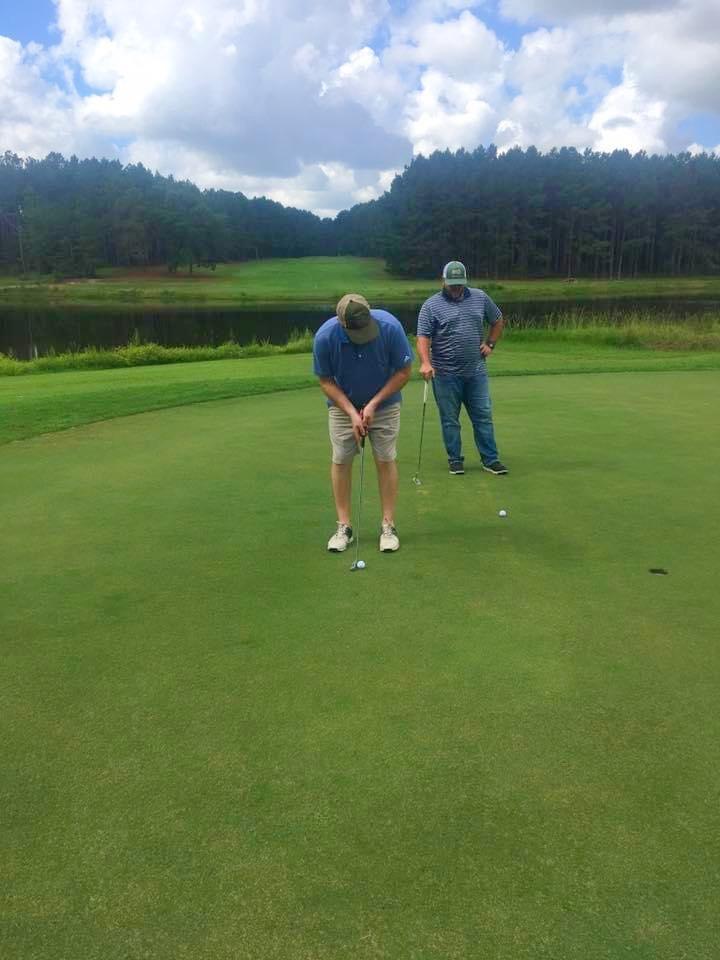 Golfing Wanee Lake