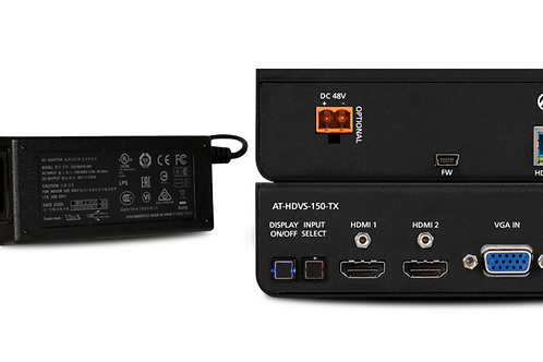 Three-Input Switcher for HDMI and VGA with HDBaseT Output